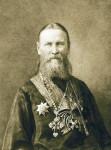 Прав. Иоанн Кронштадтский. Офорт В. А. Боброва. 1900 г.