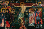 Распятие Христово. Икона XIV в., монастырь св. Екатерины, Синай