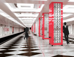 Вариант оформления станции метро «Рассказовка»