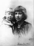 Марина Цветаева с дочерью