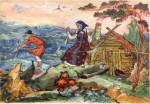 Золотая рыбка, О рыбаке и его жене, Братья Гримм