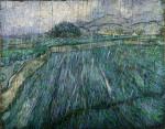 Ван Гог «Пшеничное поле в дождь»