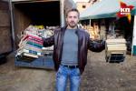 Житель Иркутска собрал библиотеку из макулатуры