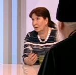Ирина Богданова в передаче «Наблюдатель» телеканала «Культура»