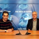 В студии «Голос России» Виктор Земсков